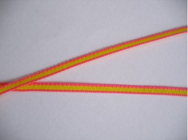 Sierband oranje/geel 5 mm     O-807