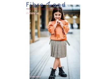 Knit co/pl jacquard tiger  Brown