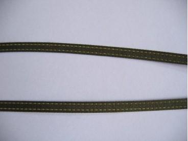 Sierband legergroen 5mm.   O- 811
