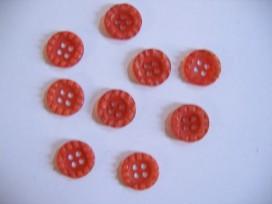 O knoopje 15mm oranje 883