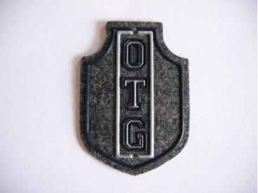 9m O applicatie OTG grijs vilt met plastic 913