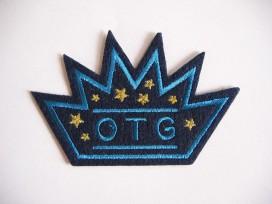 Applcatie OTG Kroon blauw