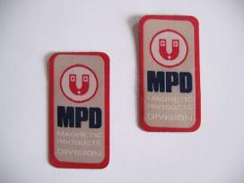 Applicatie  MPD Rood/zand