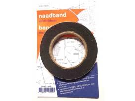 Naadband Zwart per rol van 12,5 meter