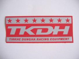 9f O applicatie TKDH Rood/grijs 920