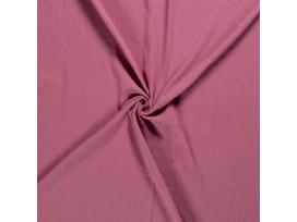 Mousseline  stof Effen Oudroze  03001-013N