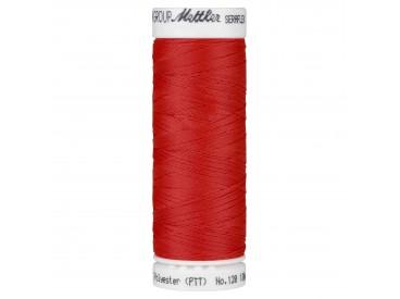 Seraflex elastisch garen licht rood    0104