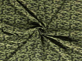 Legerprint met Dinosaurus  Groen  15800-027N
