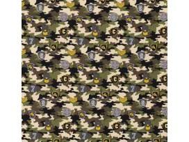 Legerprint  Zand met diverse emblemen  15797-026N