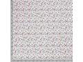 Poplin katoen Wit met witte eenhoorns  15811-050N