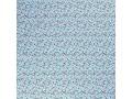 Poplin katoen Blue met witte eenhoorns  15811-003N