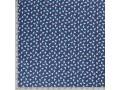 Poplin katoen Kobalt met witte eenhoorns  15811-008N