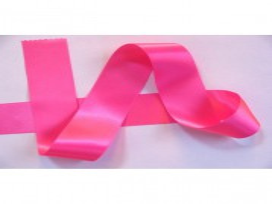 Satijnlint per rol van 25mtr.  Pink  50 mm