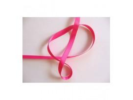 Satijnlint Pink 6 mm breed per rol van 25 mtr