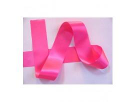 Satijnlint per rol van 25mtr.  Pink  40 mm