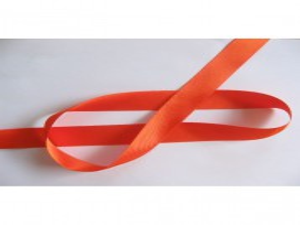 Satijnlint per rol van 25mtr  Oranje  25 mm