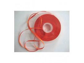 Satijnlint per rol van 50mtr  Oranje  3 mm
