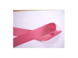 Satijnlint Roze 50 mm breed