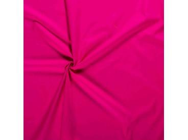 Poplin katoen effen Pink