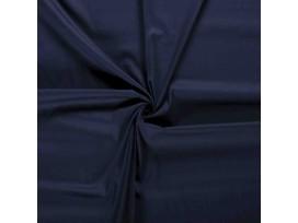 Poplin katoen effen Donkerblauw