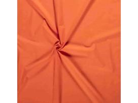 Poplin katoen effen Oranje