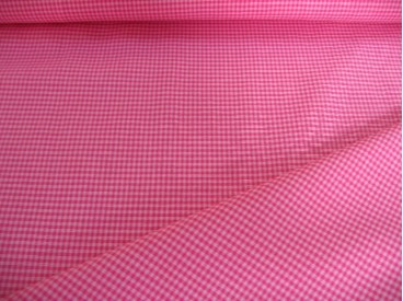 Boerenbont ruit Roze/pink 3 x 3 mm 8218