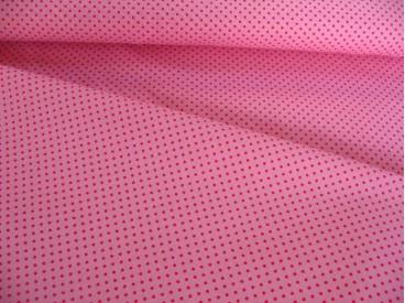 Mini stip katoen Roze/pink 8220