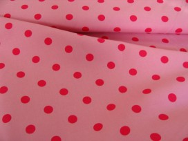 e Grote stip Roze/pink 8222