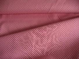 Mini stip katoen Roze/bruin 8228