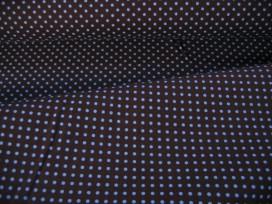 Mini stip katoen Bruin/lichtblauw 8239