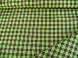 Boerenbont ruit Lime/bruin 10 x 10 mm 8255