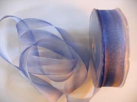 5b Organza regenboog lint Blauw/paars 282