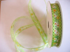 5c Organza band Lime 287