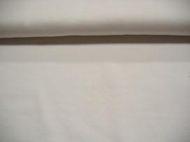 Witte boordstof van katoen. Rond gebreid dus dubbel 36 cm breed. Katoen Minimale afname is 0,50 mtr.
