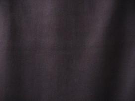 Donkerbruine katoenen boordstof. Rond gebreid. 34 cm. dubbel.Iets lichter dan op de foto. Minimale afname is 0,50 mtr.