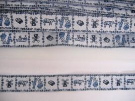 Sierband Delftsblauw 1 blauw 345