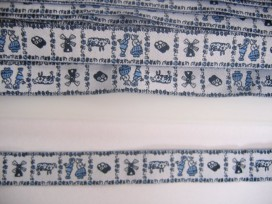 Sierband Delftsblauw 1 kusjes 345