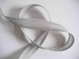 Biaisband Lichtgrijs 2cm breed