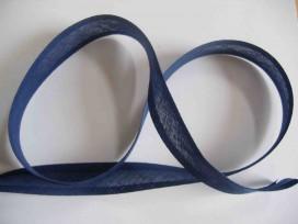 Biaisband Blauw 2cm breed