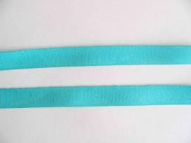 Keperband 15mm aqua/groen