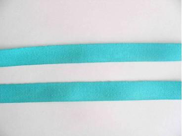 Keperband 1.5cm. aqua/groen