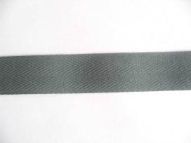 Keperband Grijs  3cm breed