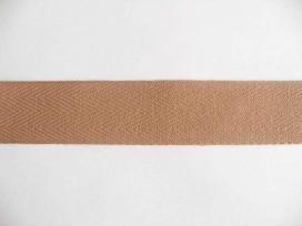 Keperband 3cm. zand