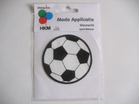 Voetbal Zwart/Wit 5 cm.