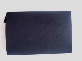 Reparatiedoek. Zwart opstrijkbaar reparatiedoek.  11 x 25 cm.  100% katoen  Wassen tot 95 graden
