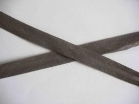 5a Biaisband 1.2 cm. Donkergrijs 001