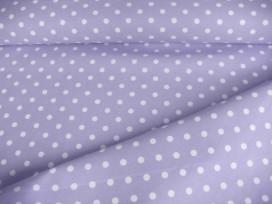 Middelstip katoen Lichtblauw/wit 8264