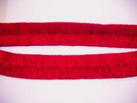 Tresband Rood gemeleerd 35 mm. 385