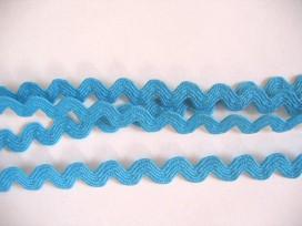 Zigzagband Aqua 10mm.
