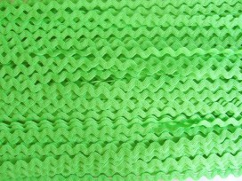 Zigzagband Lime 10mm.